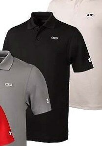 Audi Collection Under Armour Mens Performance Polo ACM-000-7BL-K2-X