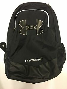 UNDER ARMOUR STORM HEAT GEAR BACK PACK GYM BAG  HUNTING GEARBOYS BLACK NWT