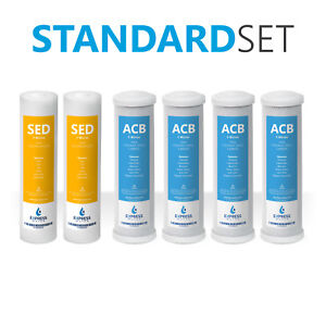 Express Water Reverse Osmosis Filter Replacement Set 2 Sediment 4 Carbon CTO $24.99