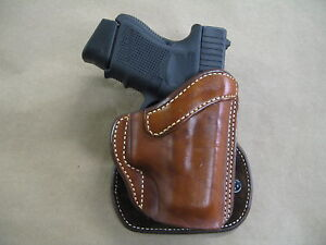 Azula Leather OWB Paddle Concealment Holster CCW  For.. Choose Color