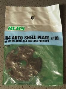 RCBS 4X4 Auto Shell Plate Assembly #18-(87618)-NEW (IP)