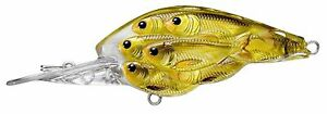Live Target Koppers Yearling Baitball 1 3 4quot; Floating Diver Gold YCB45M814