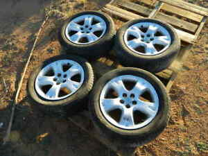 TOYOTA FACTORY WHEELS RIMS AND TIRES(20555R16) 16