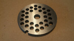 DAC #10 Meat Grinder Replacement Plate 1/4