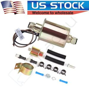 12V Universal Low Pressure Electric Fuel Pump Kit E8012S