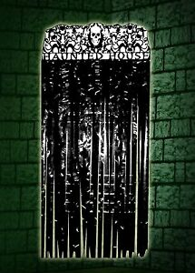 Halloween Haunted House Hanging Door Decoration For Trick Or Treat Party Favour