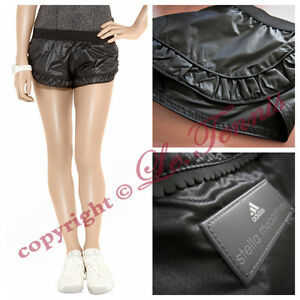 ONLY ONE ~ Adidas Stella McCartney Run Tennis Yoga Gym Workout Shorts - XS 32 34