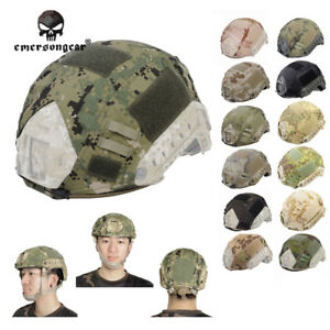 Emerson Helmet Cover Clothing for Fast Helmet BJ PJ MH Airsoft Tactical Military