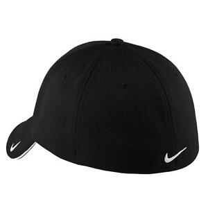 12 PERSONALIZED CUSTOM LOGO EMBROIDERED Nike Golf - Dri-FIT Mesh Swoosh Flex Cap