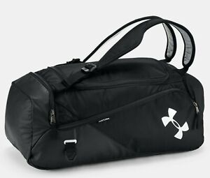 Under Armour UA Project Rock 60 Bag 22L Water Resist BLACK Backpack 1345663 NEW $77.95