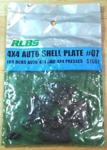RCBS 4X4 Auto Shell Plate Assembly #7-(87607)-NOS (IP)