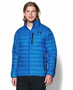 Under Armour Outerwear Mens CGI Turing Jacket 3X-Large Blue Jet