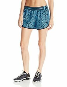Under Armour Womens Printed Perfect Pace Short Jazz Blue 482 Medium