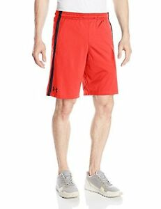 Under Armour Mens Tech Mesh Shorts Rocket Red 984 Large