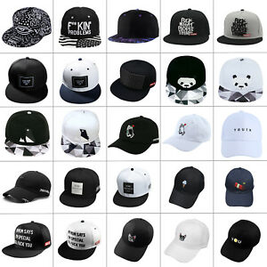 Adjustable Men Women Snapback Baseball Cap Hip Hop Sunshade Hat Street Cool Bboy