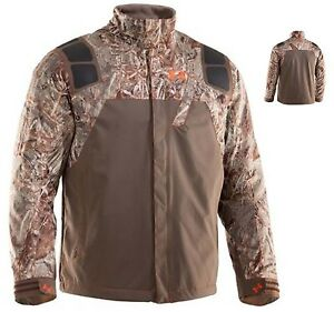 Under Armour Men's SkySweeper Camo Jacket Cold Gear Realtree Max 4 NWT $160 916
