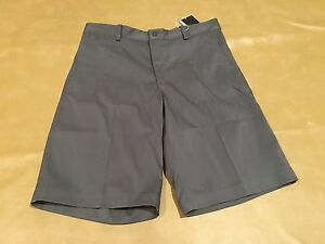 NWT Nike Golf Shorts Men Size 32 Gray New Style 639798