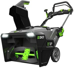 Electric Snow Blower Thrower 21 Inch 56 Volt Lithium Ion Single Stage Battery
