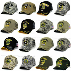 U.S. ARMY Hat Military ARMY Officially Licensed Baseball Cap Size Adjustable $13.85