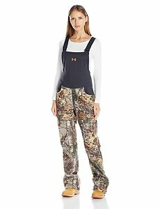 Under Armour Womens Stealth Bib Realtree Ap-Xtra 946 Small