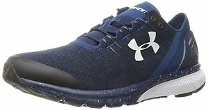Under Armour Mens Charged Bandit 2 Running-Shoes Blackout NavyWhite 10 Medium