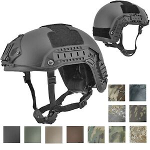 Lancer Tactical CA-805B Maritime ABS Helmet Color: Black Size: Medium to Large
