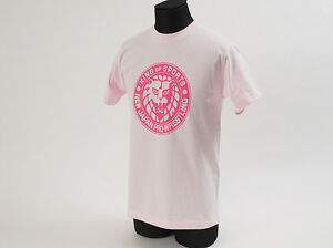 KING OF SPORTS Kids T shirt S-L PINK NJPW New Japan pro wrestling WWE FS