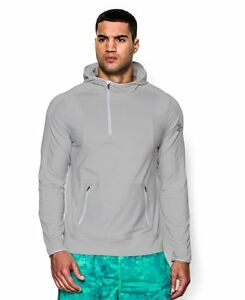 Under Armour Forum Hoody - Mens Silver Heather  Silver XXL
