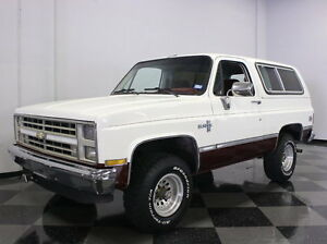 1987 Chevrolet Blazer  INGLE FAMILY - 2 OWNER 141K MILES METICULOUSLY SERVICED STOCK VERY CLEAN!