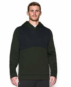 Under Armour Mens Storm Icon Insulated Hoodie Artillery Green 357 Small