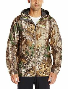 Under Armour Men's Storm Gore-Tex Essential Rain Jacket Realtree Camo Size Large