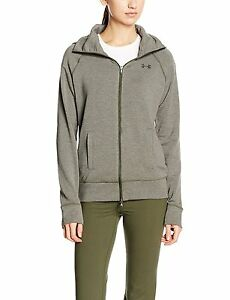 Under Armour Womens UA ColdGear Infrared Cozy Full Zip Hoodie Large DOWNTOWN