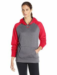 Under Armour Womens Storm Armour Fleece Hoodie Carbon Heather 090 Large