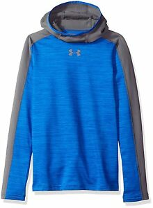 Under Armour Boys ColdGear Armour Up Ninja Hoodie Ultra Blue 907 Youth Medium
