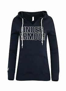 Under Armour Womens UA Athletic Hoodie Pullover NAVY M