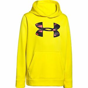Under Armour Boys UA Storm Armour Fleece MTN Hoodie Youth Medium Sunbleached