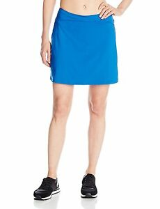 Skirt Sports Womens Happy Girl Skirt Running Skirt with Shorts Blue Voyage M