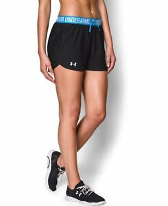 Under Armour Womens UA Play Up Shorts Large Black