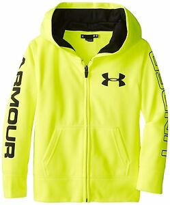 Under Armour Little Boys AF Storm Mag Zip Hoody ToddlerHi Vis Yellow2T