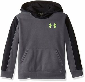 Under Armour Boys ColdGear Armour Up Printed Mock Graphite 040 Youth Large