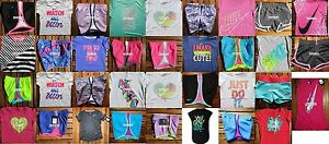 GIRLS SIZE 6 NIKE ~ RUNNING SHORTS ~ T-SHIRTS ~ HUGE LOT ~4 CHOICES ~ up to $218