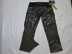 UNDER ARMOUR ColdGear® Infrared Storm 2 HUNT Camo PANTS *XL2XL* Mossy Oak Tree