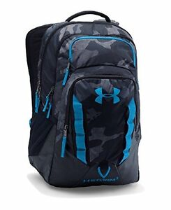 Under Armour Unisex Storm Recruit Backpack BlackStealth Gray+Laptop Space 1size
