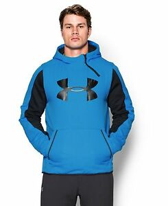 Under Armour Men's UA Scope Alpha Hoodie Electric BlueBlack X-Large