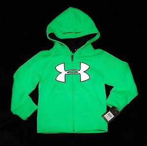 Under Armour green hoody hoodie sweatshirt girls boys 2  2T years $39.99 LAST 1
