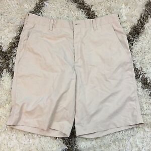 Nike Golf Dri-Fit Light Khaki Four Pocket Men's Shorts Size 33 Medium