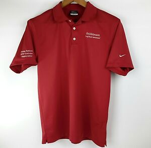 Gulfstream M Polo Trump National 2012 Customer NikeGolf DriFit Shirt Nike Swoop