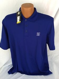 NWT UNDER ARMOUR HEAT GEAR LOOSE COUNTRY CLUB LITTLE ROCK GOLF POLO SIZE LARGE