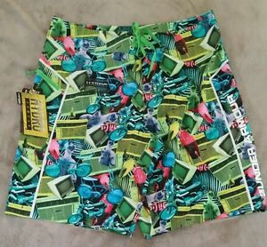 Under Armour Mens Board Shorts NEW Storm HYDRO UA size 34 NWT Cats AC TV