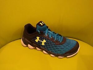 Under Armour Youth Boys Assert V Running Shoes Blue Size 7Y